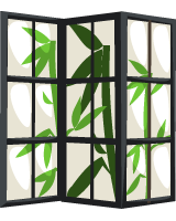 bamboo-folding-screen