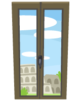 Colosseum-View-Window