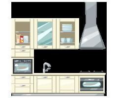 Deluxe-Cream-Kitchen-Set