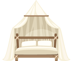 rattan-bed-with-canopy