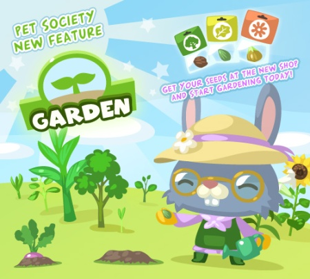 New garden feature