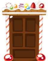 gingerbread-door