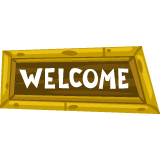 tiki-welcome-sign