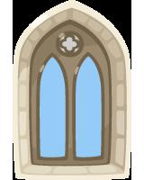 cloister-window