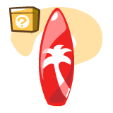 MI_glossy-red-surfboard-decor