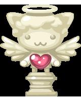 CASH_luminous-pet-angel-statue