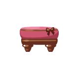 rosy-cute-ottoman