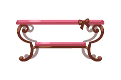 rosy-cute-table