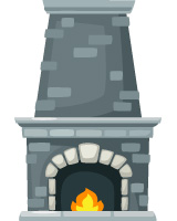 Traditional-Brick-Fireplace