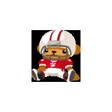 American-Football-Doll