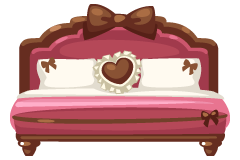 rosy-cute-bed