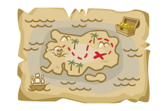 treasure-map-poster