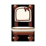 White-Cute-Dining-Chair