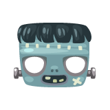 Frankenstein-Mask