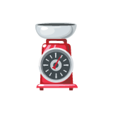 Red-Kitchen-Scale