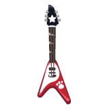 Red-Pet-V-Guitar