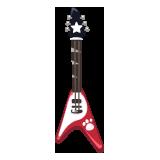 Red-Pet-V-Guitar