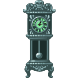 Spooky-Grandfather-Clock