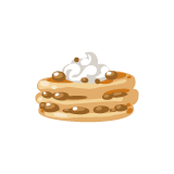 REGALOS PARA TU PET! Chestnut-pancakes