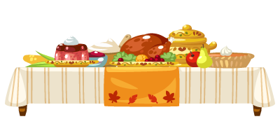 Deluxe-Turkey-Feast-Table