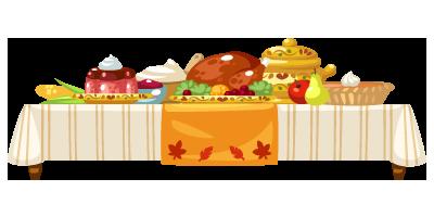 Deluxe-Turkey-Feast-Table