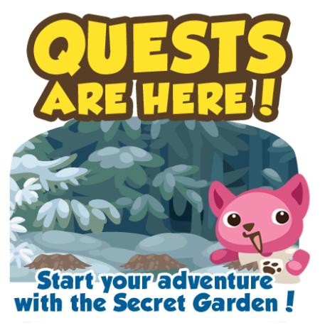 Guia -Nueva Funcion en Pet Society - Quests / Misiones Quests-1231