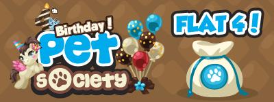 Nueva Semana: Pet Society Celebra su 4to Cumpleaños!! Flat-4